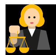 richter - Personen im Strafprozess