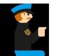 wachtmeister - Personen im Strafprozess